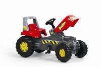 Butien kinder speelgoed tractor trapauto rood