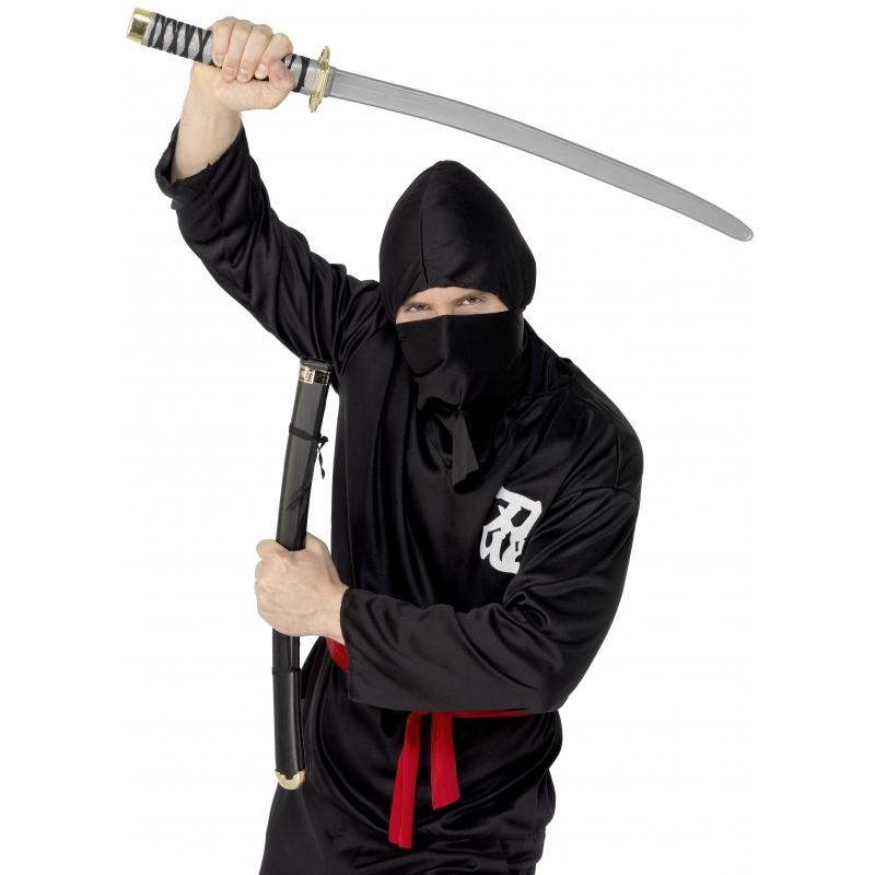 Speelgoed ninja zwaard verkleed accessoires 73 cm