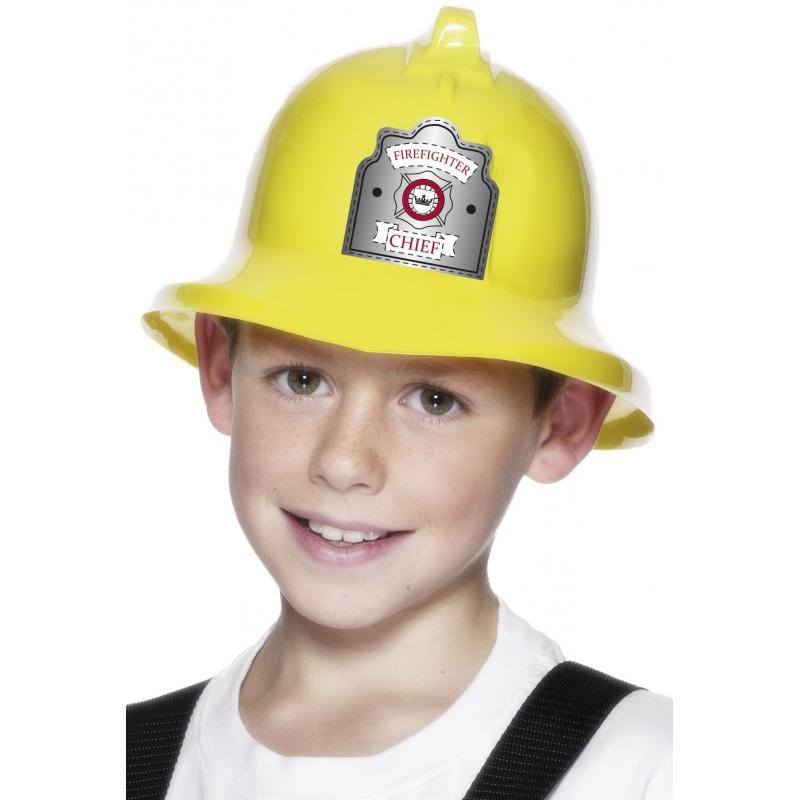 Kinder brandweer helm
