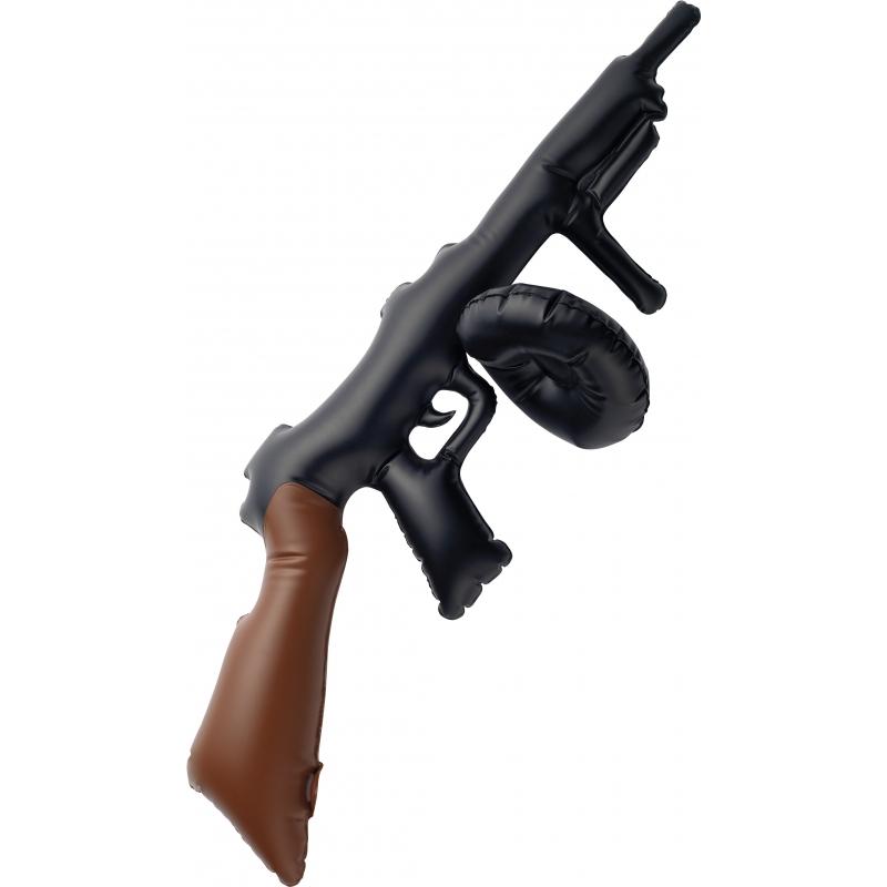 Tommy gun geweer opblaasbaar speelgoed
