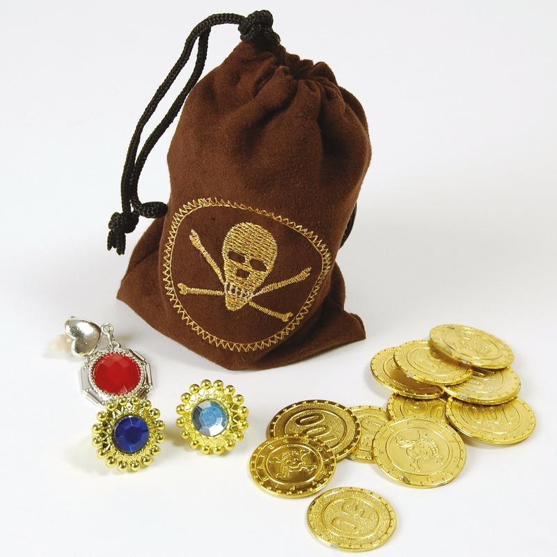 Piraten buit in buidel