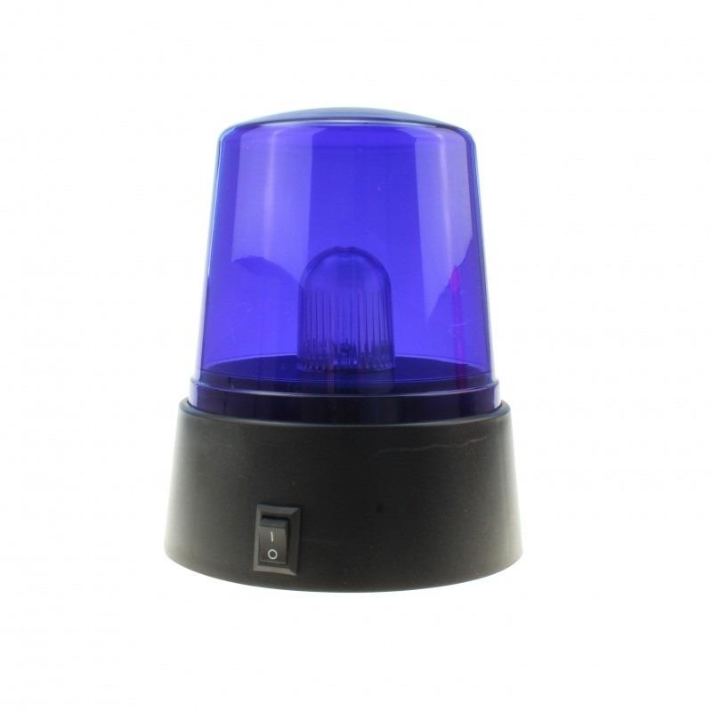 Zwaailamp zwaailicht met blauw ledlicht 11 cm