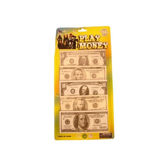 Speelgeld dollar briefjes 100 stuks