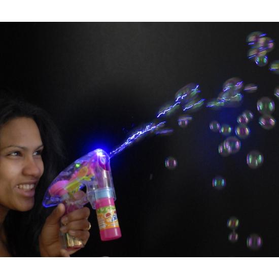 Bellenblaas led speelgoed pistool