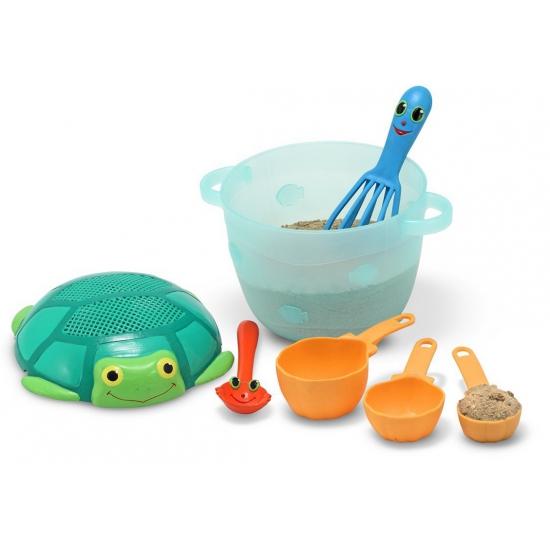 Zandbak strand speelgoed set gebakjes