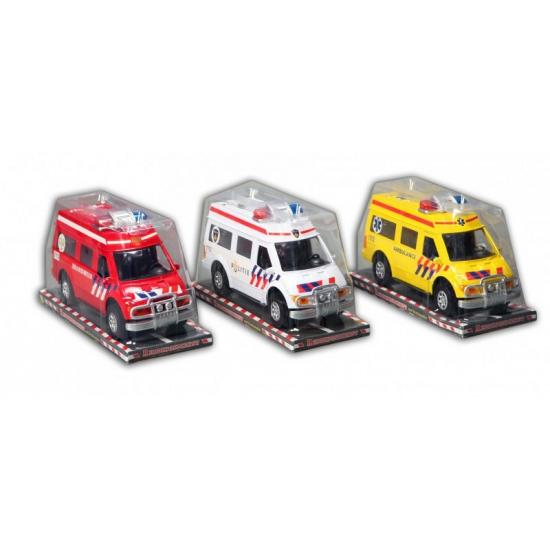Speelgoed brandweerauto 26 cm