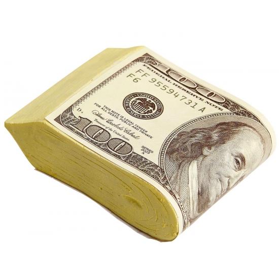 Nepgels pakje dollars