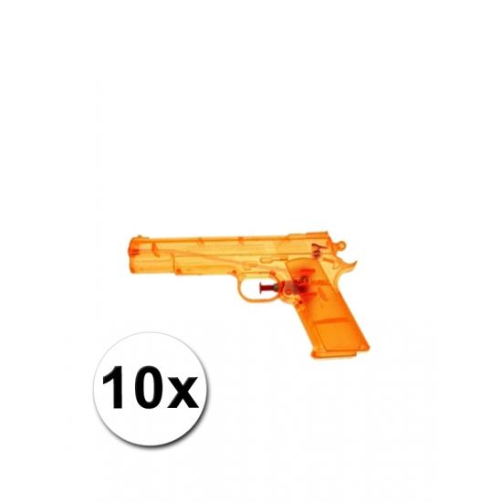 10 voordelige waterpistolen oranje
