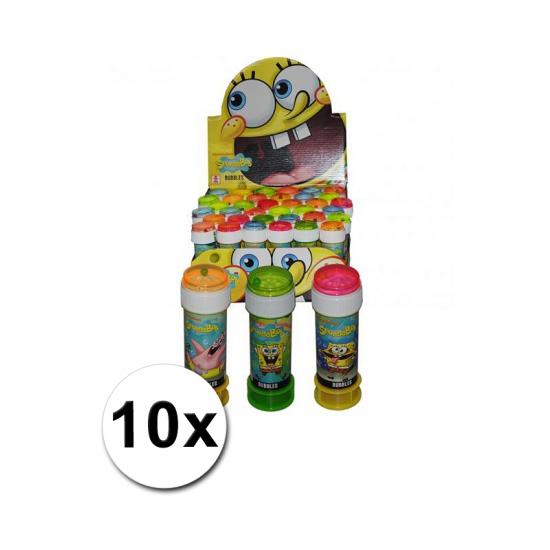 Spongebob bellenblaas 10 stuks