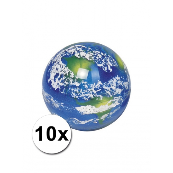 10 planeet aarde stuiterballen