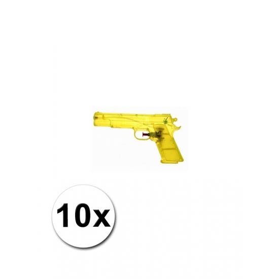 10 voordelige waterpistolen geel