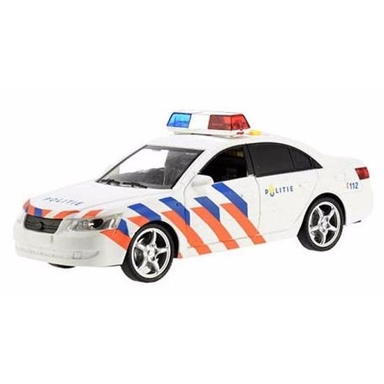 Speelgoed politie voertuig met licht en geluid 22 cm