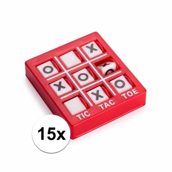Traktatie speelgoed boter kaas en eieren spelletjes 15x