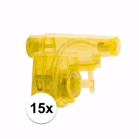 Traktatie speelgoed waterpistolen 15x