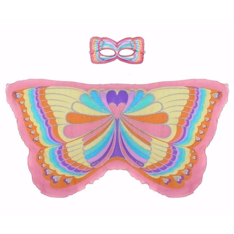Speelgoed regenboogvlinder verkleedset