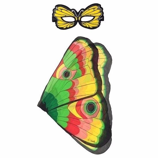 Speelgoed gekleurde vlinder verkleedset