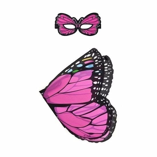 Speelgoed roze vlinder verkleedset