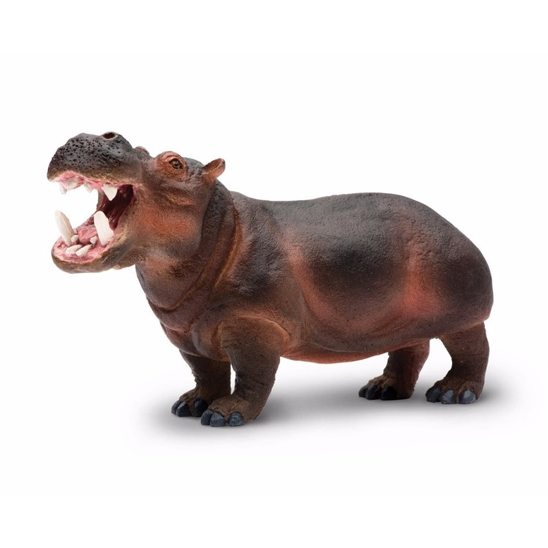 Speelgoed nep nijlpaard 12 cm