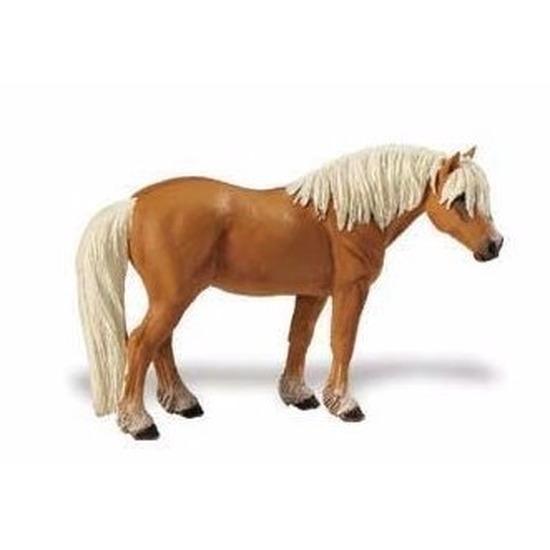 Speelgoed nep haflinger paard merrie 11 cm