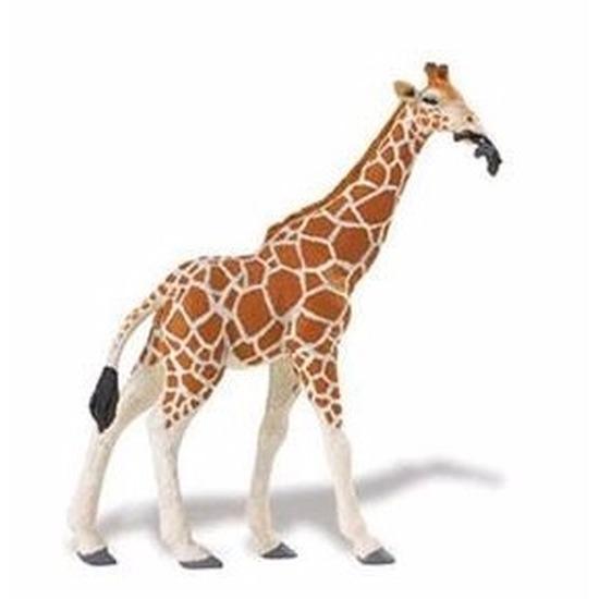 Speelgoed nep somalische giraffe 14 cm