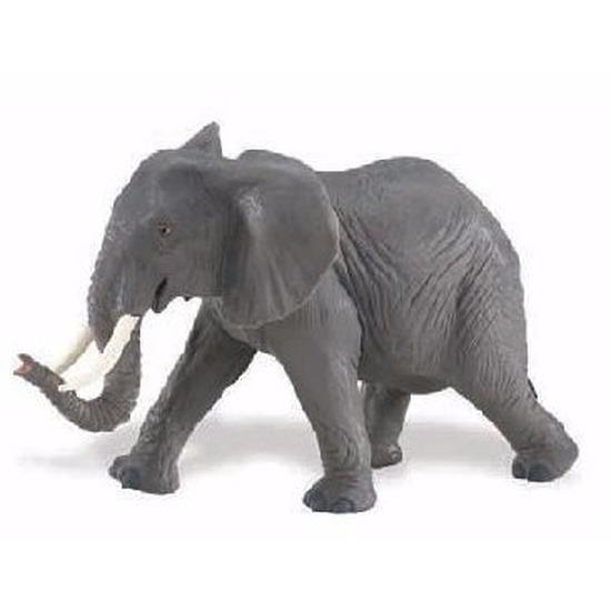 Speelgoed nep afrikaanse olifant 16 cm
