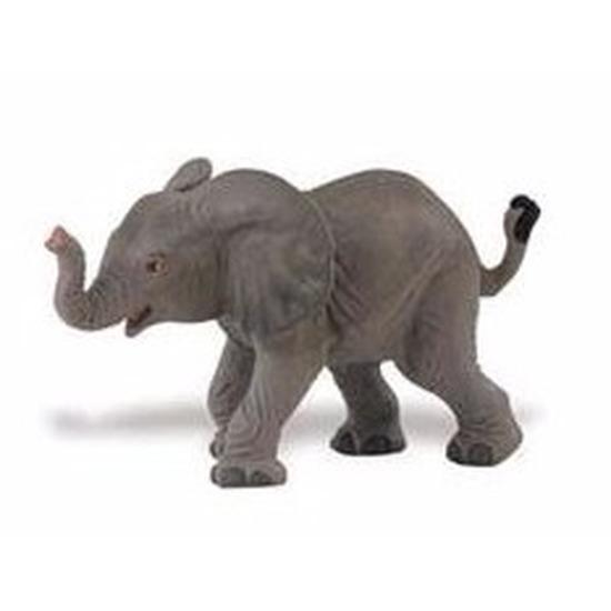 Speelgoed nep afrikaanse olifant 8 cm