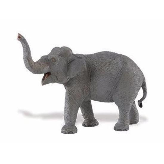 Speelgoed nep aziatische olifant 16 cm
