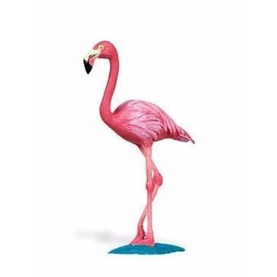 Speelgoed plastic flamingo 8 cm