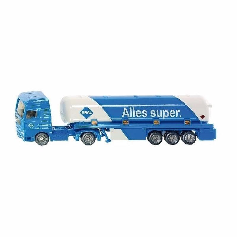 Speelgoedauto siku aral tankwagen 1626