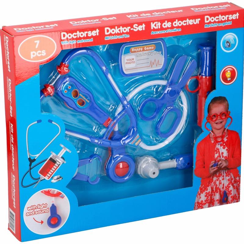 Speelgoed dokter setje 7 delig