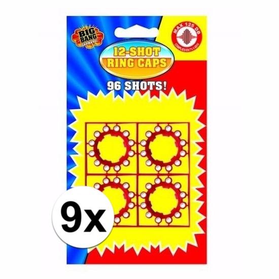 12 schots speelgoed plaffertjes 9 stuks