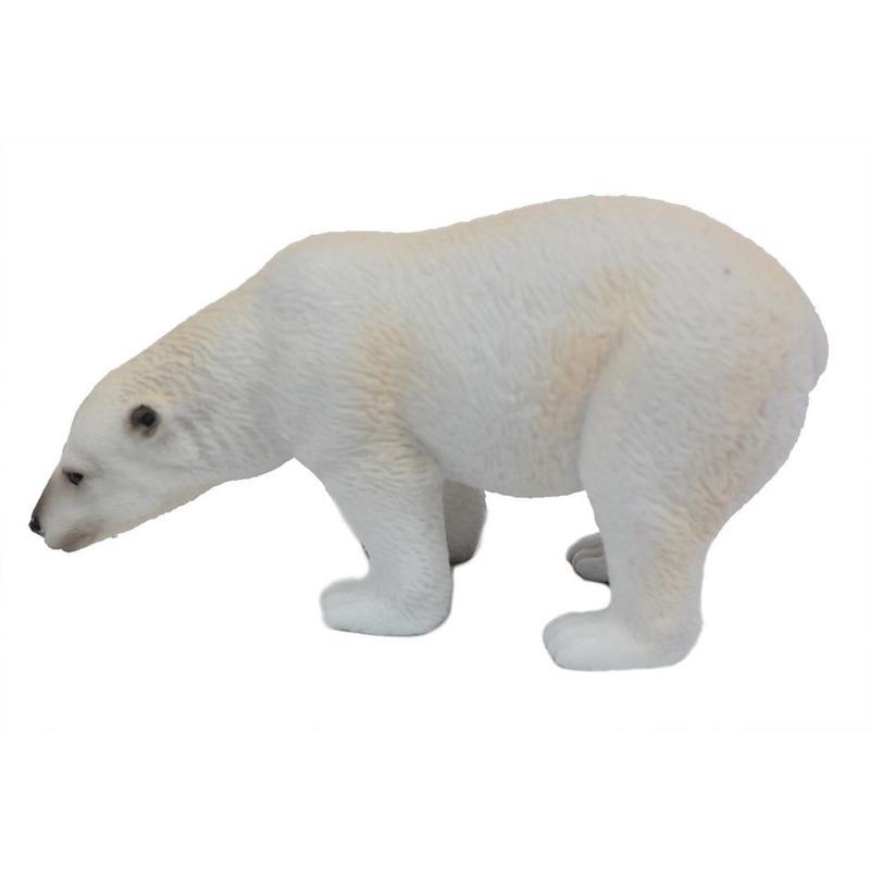 Witte speelgoed ijsbeer 11 cm
