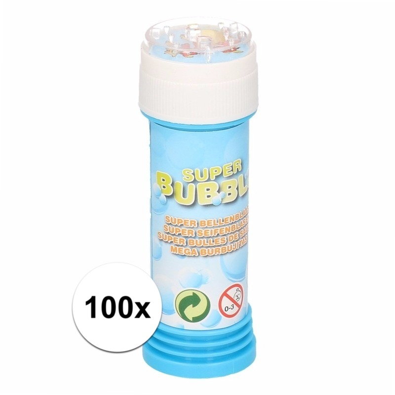 Voordelige bellenblaas 50 ml 100x