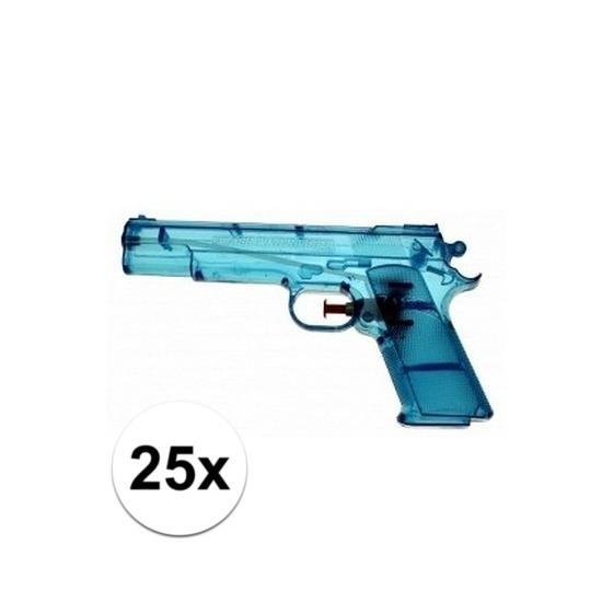 25x voordelige waterpistolen blauw