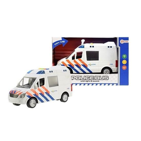 Politie speelgoedauto met licht en geluid