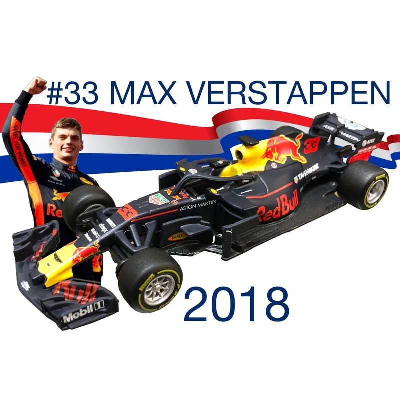 Formule 1 speelgoedwagen max verstappen rb14 1 43