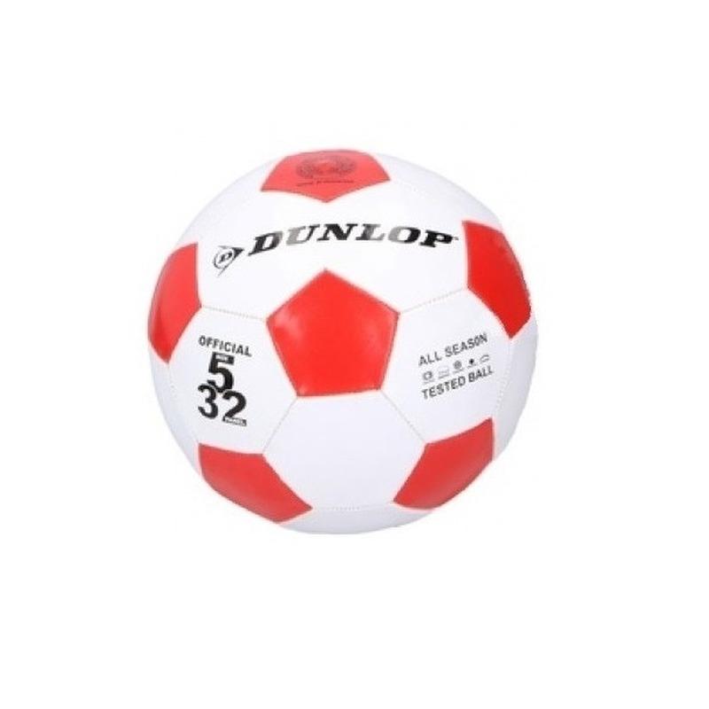 Dunlop junior voetbal maat 5 rood wit