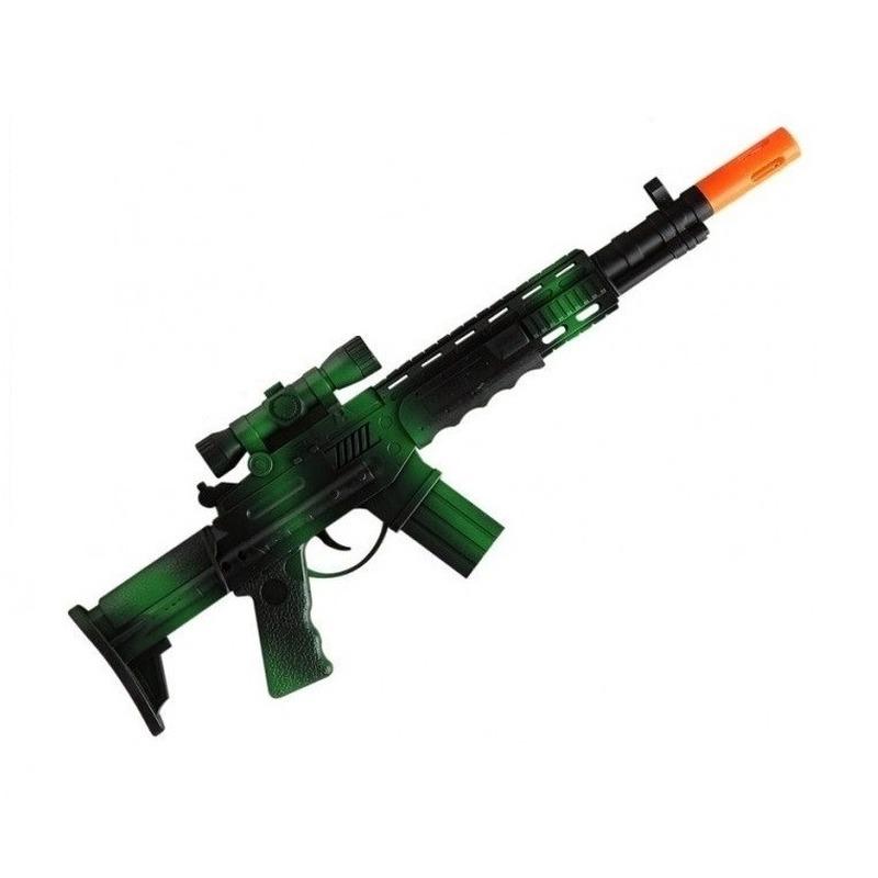 Speelgoed machine geweer army combat 44 cm