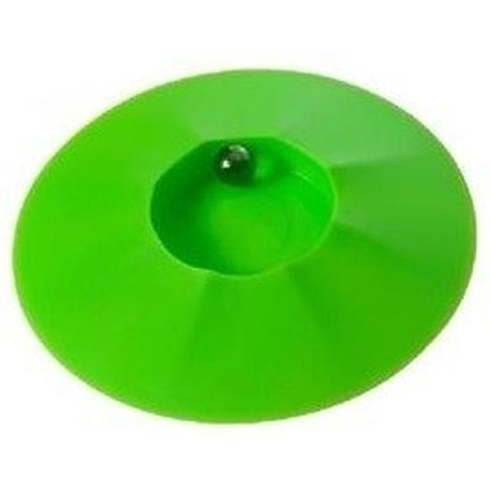 Speelgoed knikkerpotjes groen 17 cm