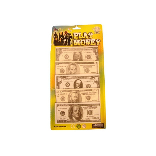 Speelgeld dollar briefjes 400 stuks