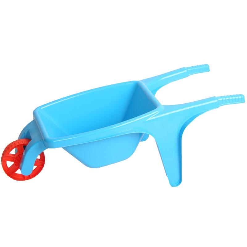 Speelgoed kruiwagen blauw 70 cm