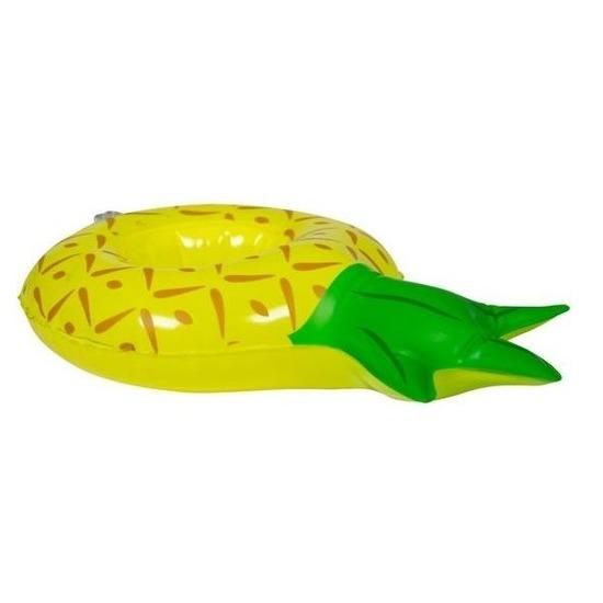 Poppen knuffels zwembanden ananas 27 cm