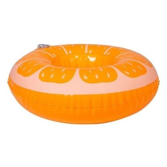 Poppen knuffels zwembanden sinaasappel 17 cm
