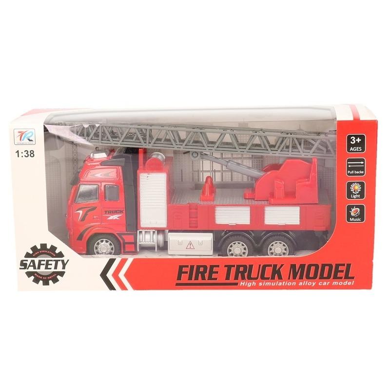Brandweerauto speelgoed voertuig 1 38