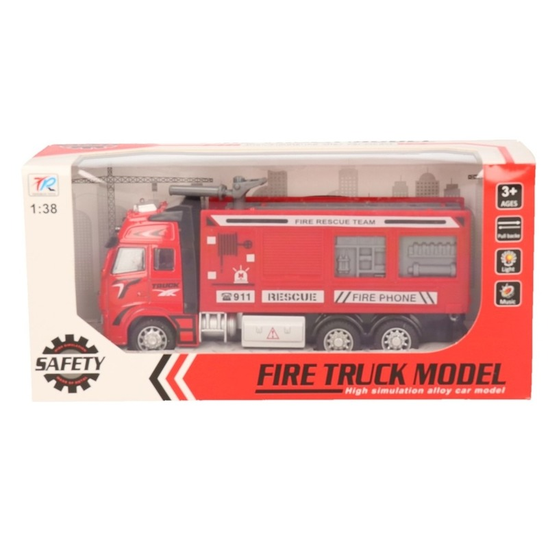 Brandweerauto speelgoed voertuig 1 38 10139639