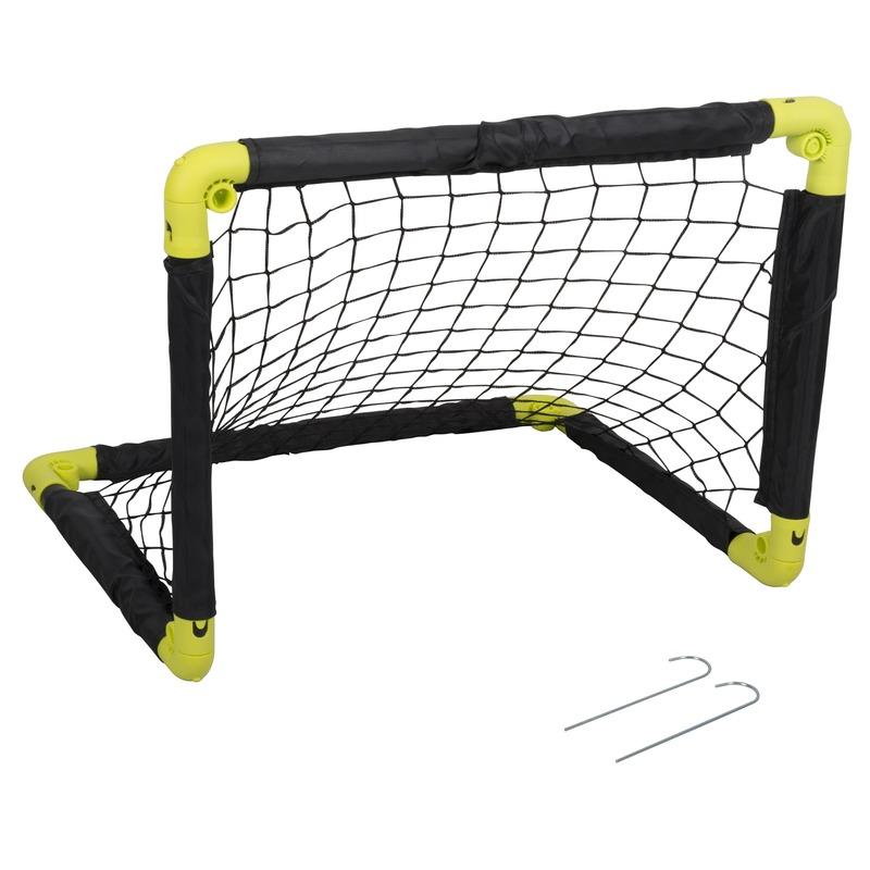 1x inklapbaar voetbaldoel 50 cm speelgoed