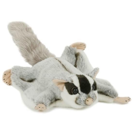 Pluche speelgoed vliegende eekhoorn knuffeldier 28 cm