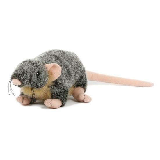 Pluche speelgoed rat muis knuffeldier 18 cm