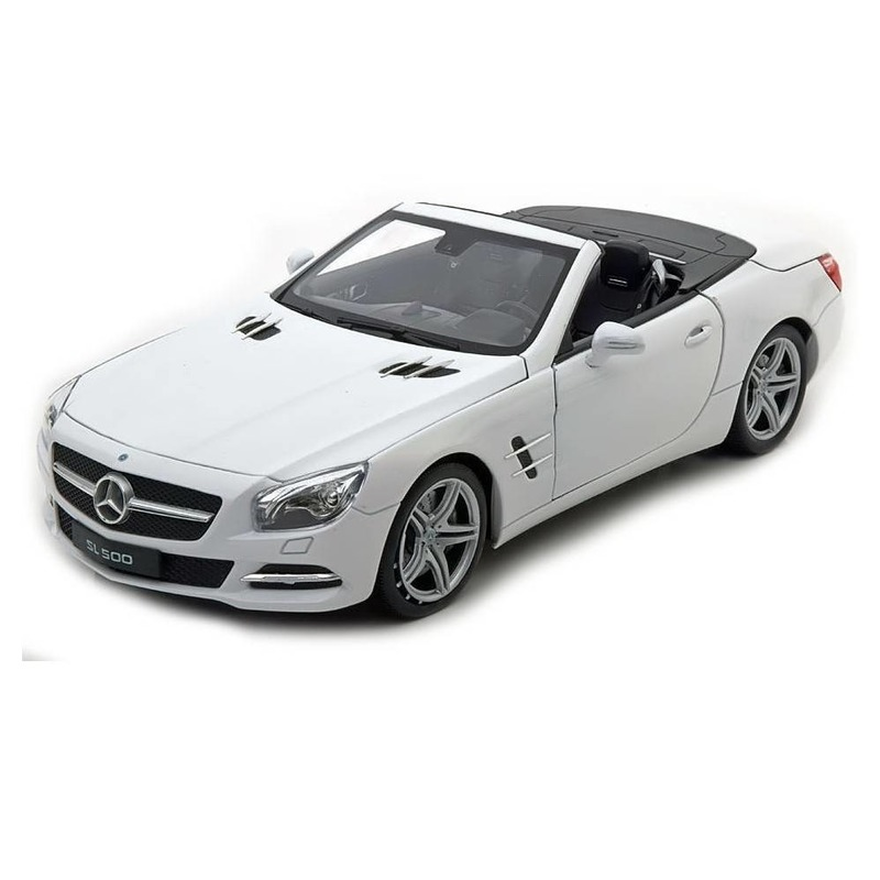 Speelgoed mercedes benz 2012 sl500 wit welly autootje 12 cm 10147229