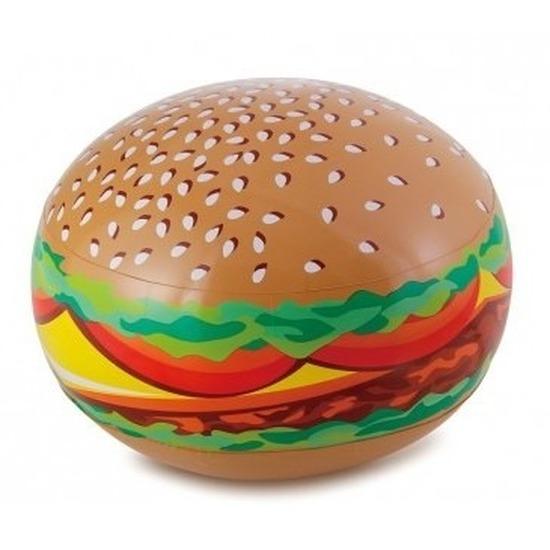 Opblaadbare hamburger 61 cm waterspeelgoed
